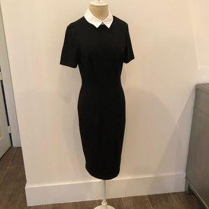 ASOS white collar dress